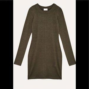 Wilfred | GARIMA Olive - Knit Dress